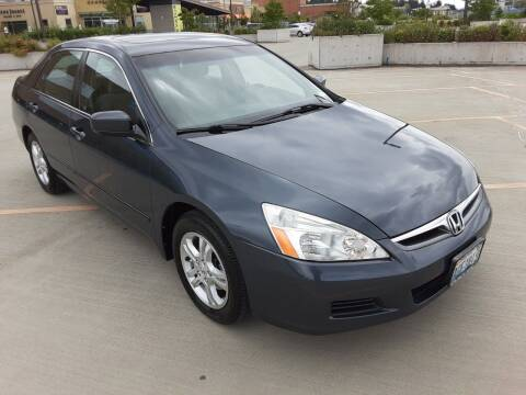 2007 Honda Accord for sale at METROPOLITAN MOTORS in Kirkland WA