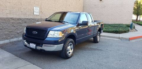 2005 Ford F-150 for sale at SafeMaxx Auto Sales in Placerville CA