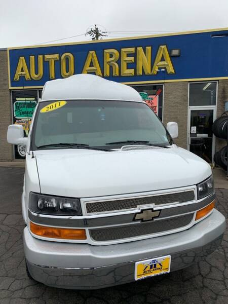 2011 Chevrolet Express Passenger for sale at Auto Arena in Fairfield OH
