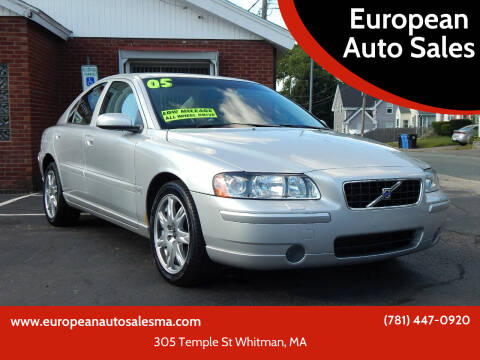 2005 Volvo S60 for sale at European Auto Sales in Whitman MA
