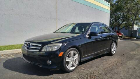 2010 Mercedes-Benz C-Class for sale at Rosa's Auto Sales in Miami FL