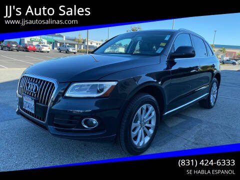 2013 Audi Q5 for sale at JJ's Auto Sales in Salinas CA
