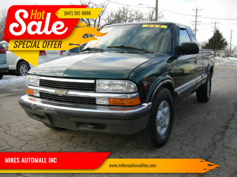 2002 Chevrolet S-10 for sale at MIKES AUTOMALL INC in Ingleside IL
