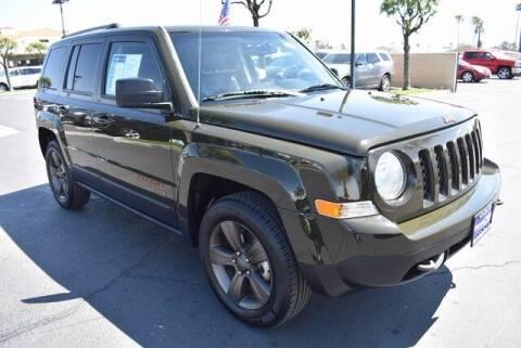 2017 Jeep Patriot for sale at DIAMOND VALLEY HONDA in Hemet CA