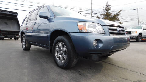2007 Toyota Highlander for sale at Action Automotive Service LLC in Hudson NY