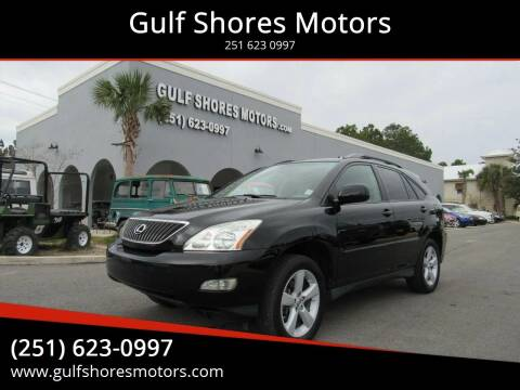 2007 Lexus RX 350 for sale at Gulf Shores Motors in Gulf Shores AL