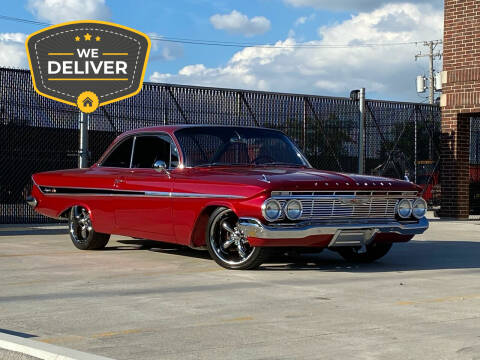 1961 Chevrolet Impala for sale at MGM CLASSIC CARS in Addison IL