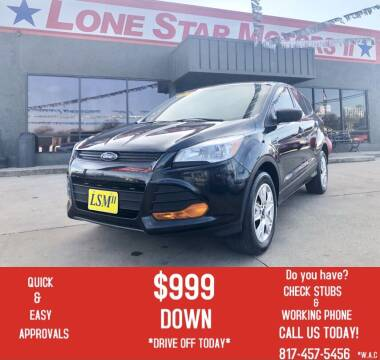 2014 Ford Escape for sale at LONE STAR MOTORS II in Fort Worth TX