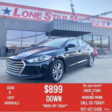 2017 Hyundai Elantra for sale at LONE STAR MOTORS II in Fort Worth TX