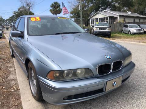 2003 BMW 5 Series for sale at Castagna Auto Sales LLC in Saint Augustine FL