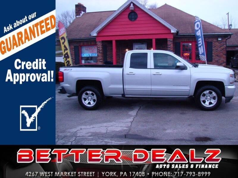 2016 Chevrolet Silverado 1500 for sale at Better Dealz Auto Sales & Finance in York PA