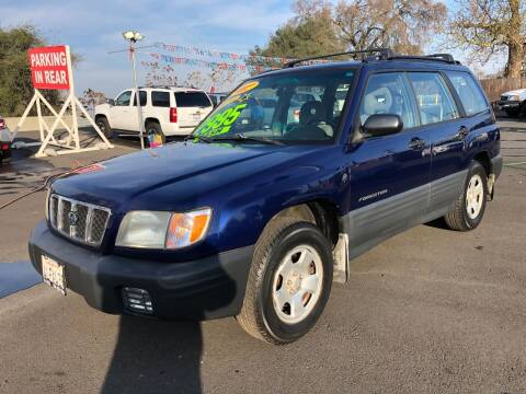 2001 Subaru Forester for sale at C J Auto Sales in Riverbank CA