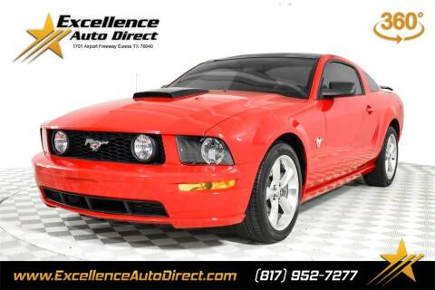 2009 Ford Mustang for sale at Excellence Auto Direct in Euless TX