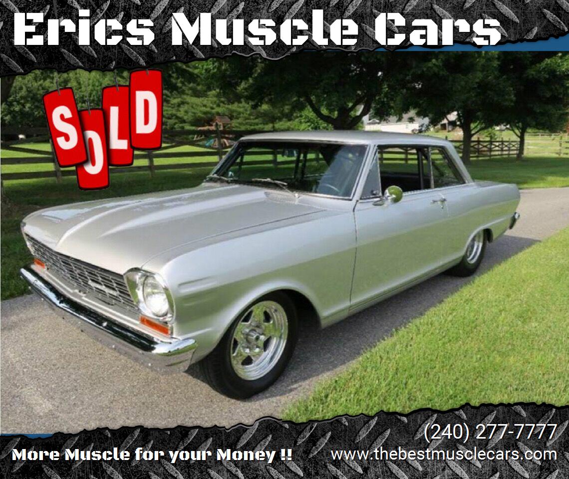 1964 Chevrolet Nova LS3 SOLD SOLD SOLD