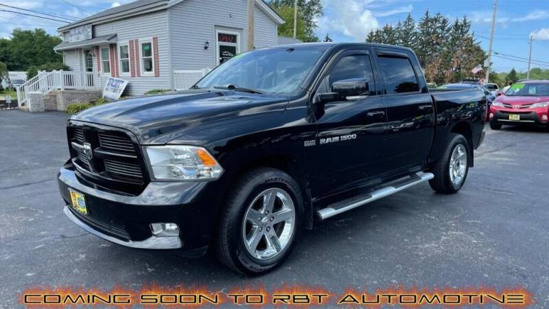2012 RAM Ram Pickup 1500 for sale at RBT Automotive LLC in Perry OH