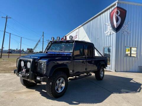 1984 Land Rover Defender 130 for sale at Barrett Auto Gallery in San Juan TX