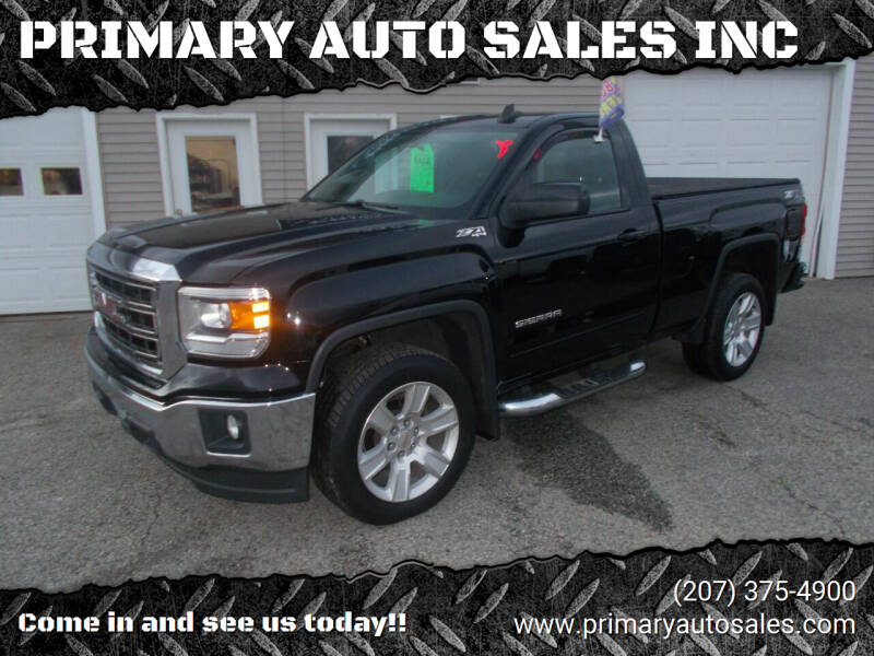 2015 GMC Sierra 1500 for sale at PRIMARY AUTO SALES INC in Sabattus ME