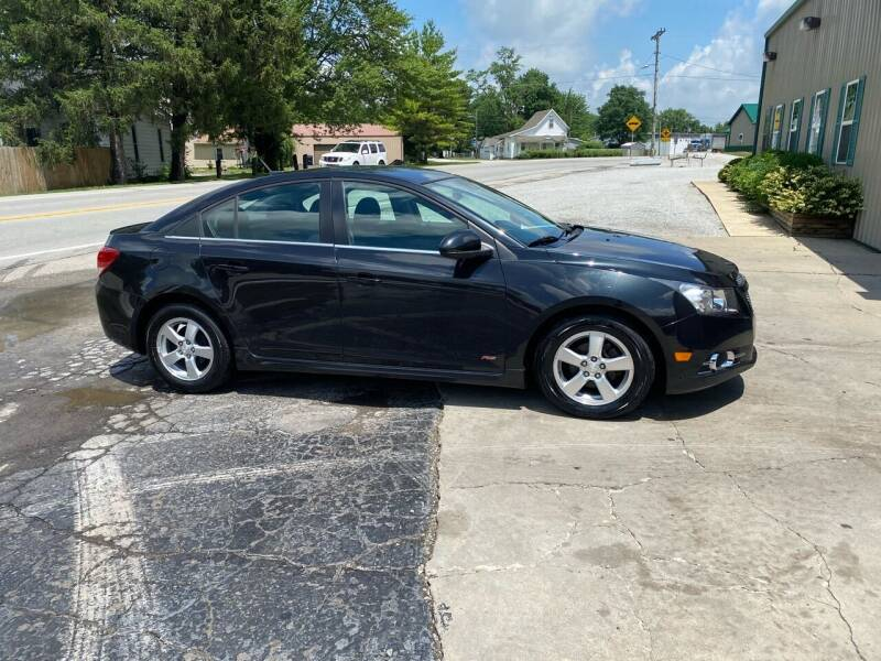2014 Chevrolet Cruze for sale at MOES AUTO SALES in Spiceland IN