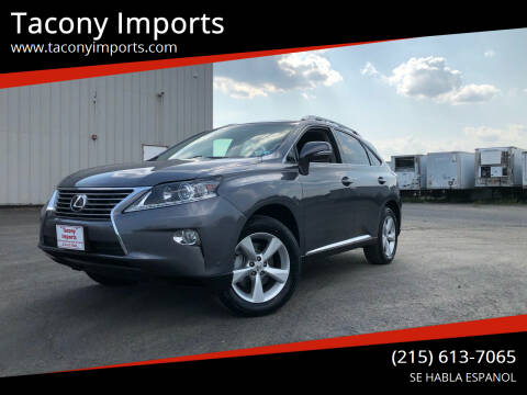 2014 Lexus RX 350 for sale at Tacony Imports in Philadelphia PA