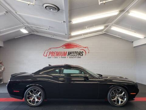 2015 Dodge Challenger for sale at Premium Motors in Villa Park IL