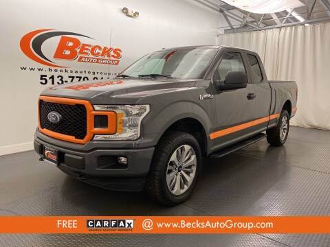 2018 Ford F-150 for sale at Becks Auto Group in Mason OH