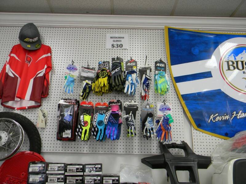 2021 Motor Cross Gloves Many Brands for sale at A C Auto Sales in Elkton MD