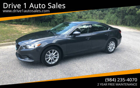 2015 Mazda MAZDA6 for sale at Drive 1 Auto Sales in Wake Forest NC