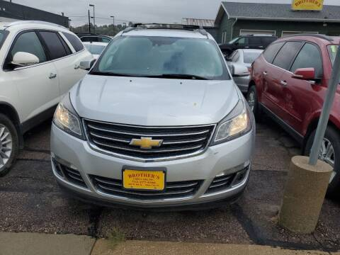 2015 Chevrolet Traverse for sale at Brothers Used Cars Inc in Sioux City IA