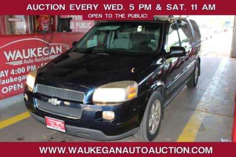 2007 Chevrolet Uplander for sale at Waukegan Auto Auction in Waukegan IL