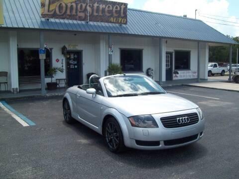 2001 Audi TT for sale at LONGSTREET AUTO in Saint Augustine FL
