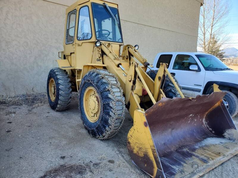 Cat 910 for sale at HIGH COUNTRY MOTORS in Granby CO