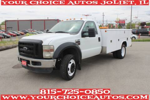 2008 Ford F-450 Super Duty for sale at Your Choice Autos - Joliet in Joliet IL
