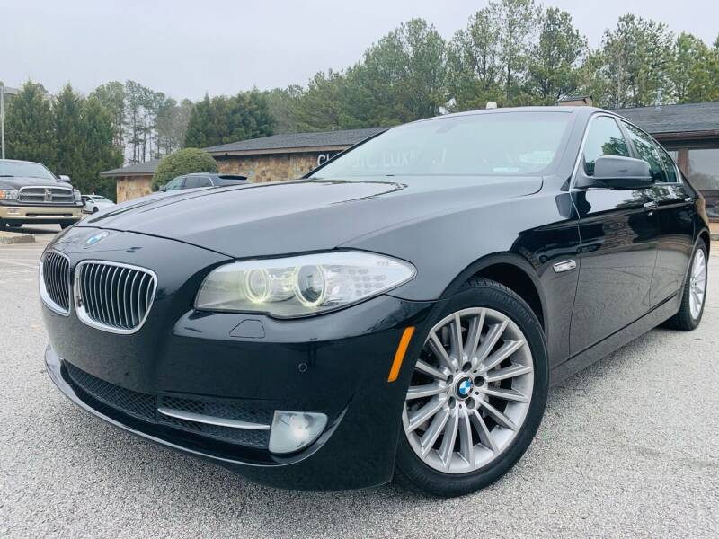 2011 BMW 5 Series for sale at Classic Luxury Motors in Buford GA