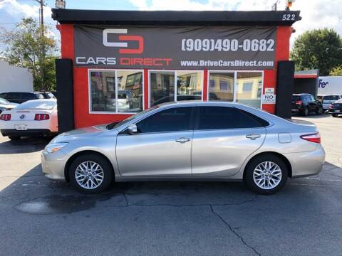 2016 Toyota Camry for sale at Cars Direct in Ontario CA