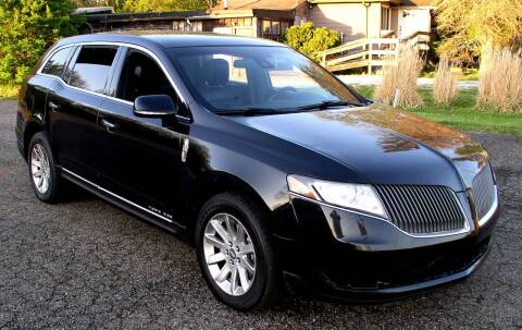 2014 Lincoln MKT Town Car for sale at Angelo's Auto Sales in Lowellville OH