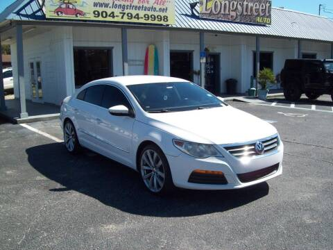 2011 Volkswagen CC for sale at LONGSTREET AUTO in St Augustine FL