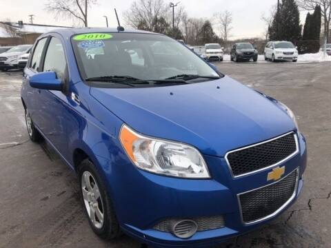 2010 Chevrolet Aveo for sale at Newcombs Auto Sales in Auburn Hills MI