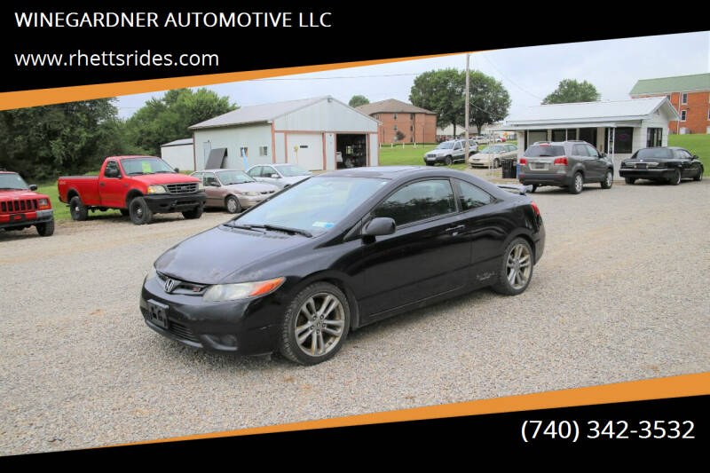 2008 Honda Civic for sale at WINEGARDNER AUTOMOTIVE LLC in New Lexington OH