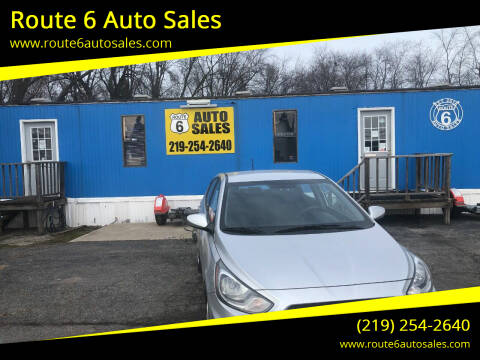 2012 Hyundai Accent for sale at Route 6 Auto Sales in Portage IN