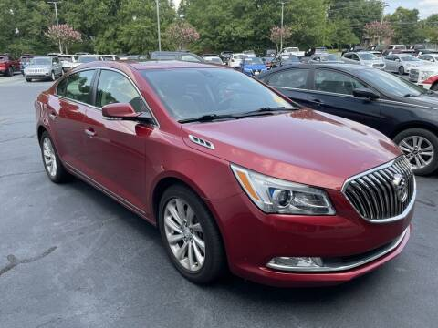 2014 Buick LaCrosse for sale at Stearns Ford in Burlington NC