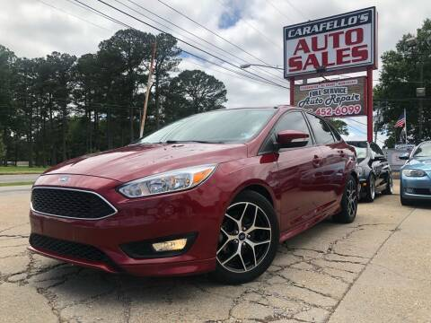 2016 Ford Focus for sale at Carafello's Auto Sales in Norfolk VA