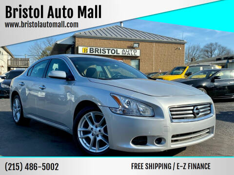 2014 Nissan Maxima for sale at Bristol Auto Mall in Levittown PA