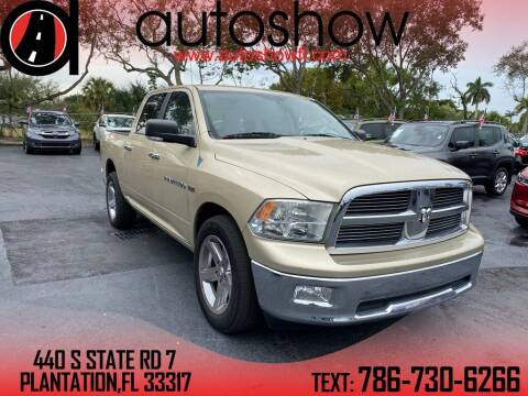 2011 RAM Ram Pickup 1500 for sale at AUTOSHOW SALES & SERVICE in Plantation FL