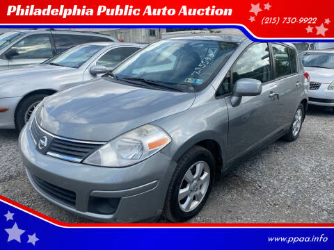 2009 Nissan Versa for sale at Philadelphia Public Auto Auction in Philadelphia PA