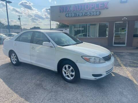 2002 Toyota Camry for sale at NTX Autoplex in Garland TX