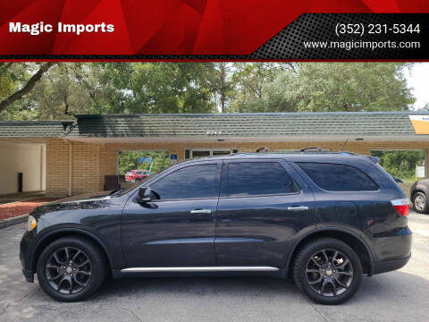 2013 Dodge Durango for sale at Magic Imports in Melrose FL