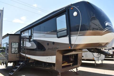 2011 Coachmen Brookstone 367RL for sale at Buy Here Pay Here RV in Burleson TX