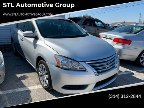 2013 Nissan Sentra for sale at STL Automotive Group in O'Fallon MO