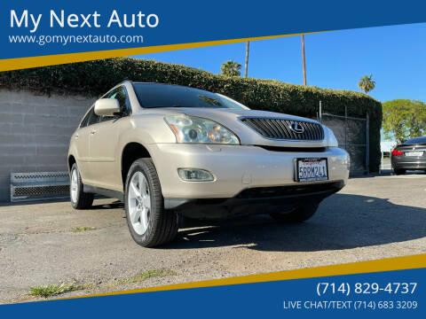 2006 Lexus RX 330 for sale at My Next Auto in Anaheim CA