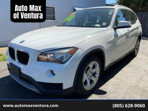 2013 BMW X1 for sale at Auto Max of Ventura - Automax 3 in Ventura CA